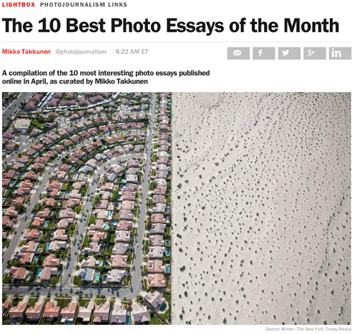 photographic essays Photo essays from around the world photo essays from around the world  today's paper advertisement supported by magazine look photo essays from around the world latest search search .